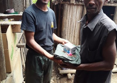 Distribution d'équipements de sécurité à Ambohitsara, Mars 2019
