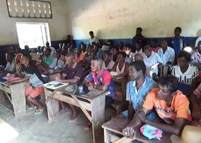 Réunion de sécurisation à Ambohitsara, Mars 2019